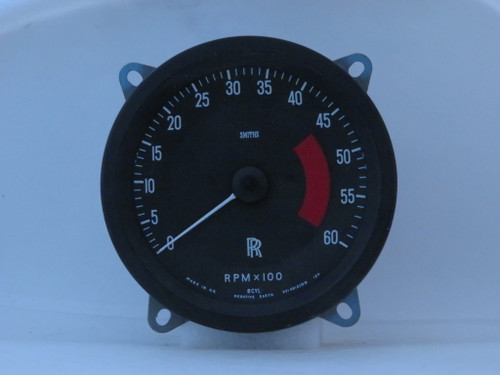 Rolls Royce Silver Shadow & Corniche NOS Smiths 6000 RPM Tachometer  RVI4812/00