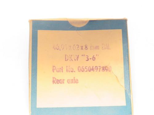DKW F93 F94 & AU 1000 Rear Wheel Oil Seal  46.94x62x8