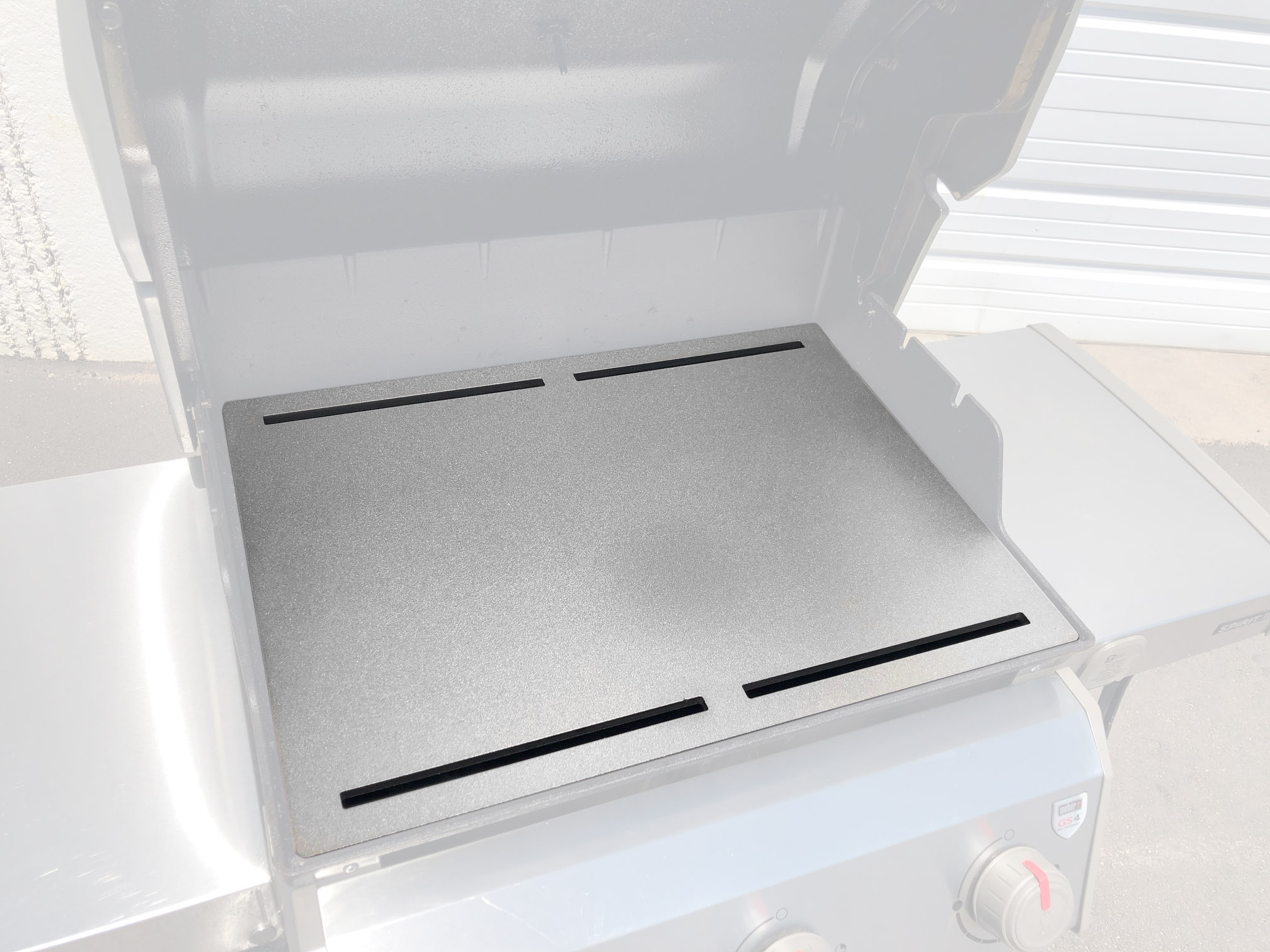 Full Conductive Grill Griddle - Fits Weber Gas Grills