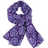 Women's fashion scarf purple lavender