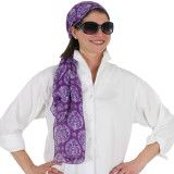 Women's soft and colorful scarf
