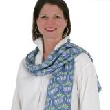 Ladies soft and lightweight fashion scarf
