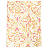Fabric covered, hardbound, lined journal