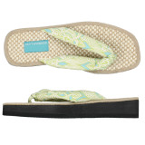 Clare Lime Sandals