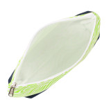 Kensington Lime Cosmetic Bag-interior view