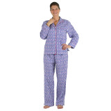 Women's soft woven 100% cotton pajama set