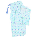 Long sleeve pjs in cotton fabric
