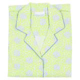 Ladies button-down nightshirt in 100% cotton