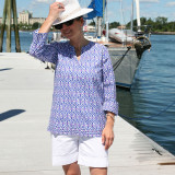 Womens  100% cotton medium weight beach cover up