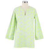 Women's tunic tops 100% cotton