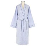 Women's classic shawl collar robe