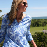 Light weight cotton voile for casual caftan for lounging poolside. Great for hot and humid days