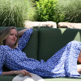 Very light soft pure cotton voile caftan. Comfortable fabric in hot and  humid environment