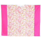 Calypso Pink ~ Cotton Voile V-Neck Kaftan