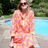 long beach cotton caftan