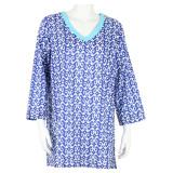 Women's summer cotton tunic