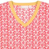 Newport Coral exclusive summer design cotton voile tunic