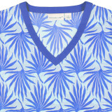 V neck cotton beach tunic