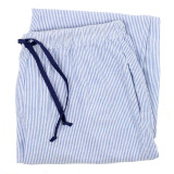 Women's cotton seersucker lounge pants-folded