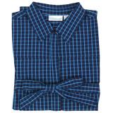 Women's 100% cotton button-down shirt dress