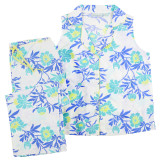Women's woven cotton sleeveless summer cool crisp cotton pajamas. Not knit pajamas