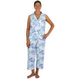 Cool and comfy 100 % cotton sleeveless summer pajamas