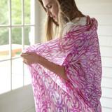 Women's soft and lightweight 100% Merino wool shawl