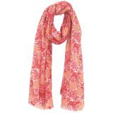 Women's soft and lightweight merino wool shawl