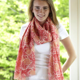 Women's 100% Merino wool scarf