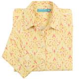 Women's long sleeve, button-down style shirt, 100% cotton