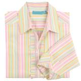 100% woven cotton, long sleeve, button-down shirt for women