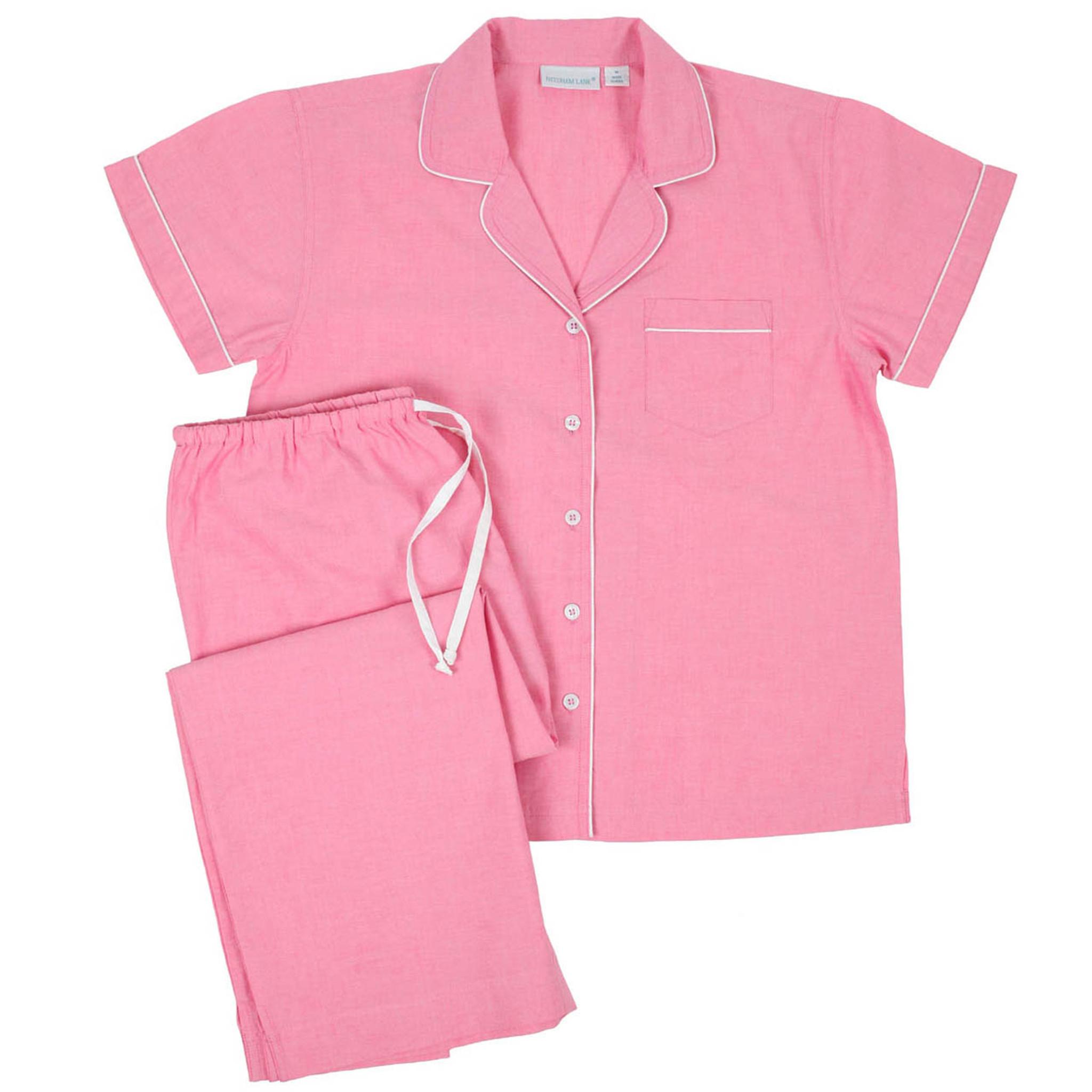 cc137b7840 Primrose Short Sleeve Capri Pajamas - Needham Lane Ltd.