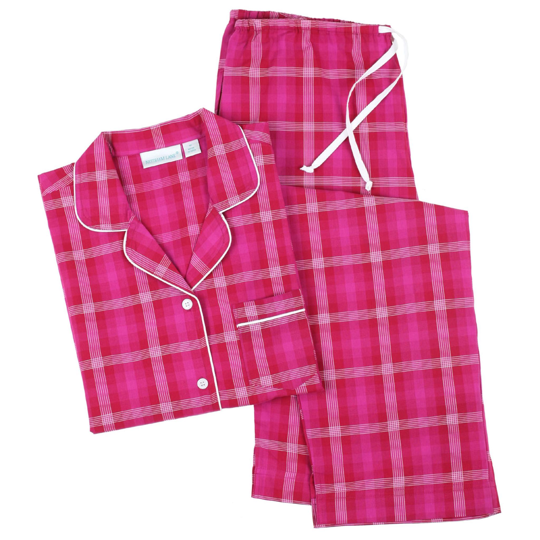 Kinsey ~ Cotton Classic Long Sleeve Pajamas - Needham Lane Ltd.