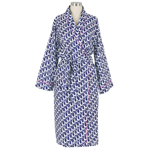 Lucy Navy robe