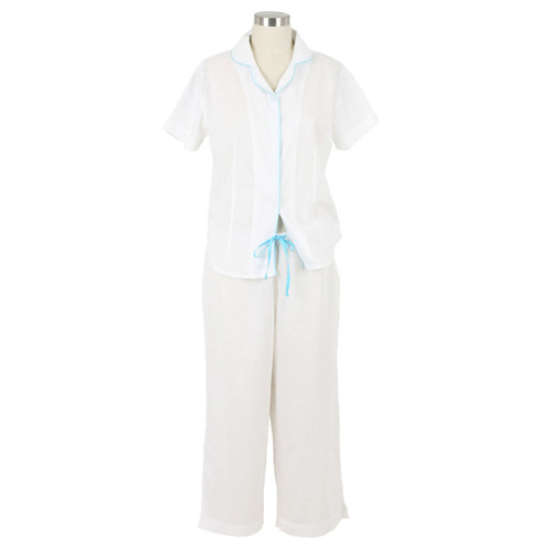 Short sleeve lightweight cotton pajamas