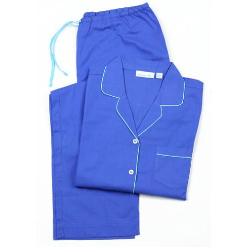 Cooper Cobalt long sleeve pajamas