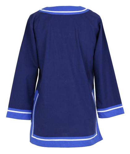 Seabury Navy/Cobalt tunic