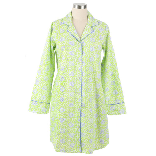 Ladies nightshirt made from 100% cotton