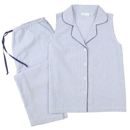 Seersucker pajamas for women