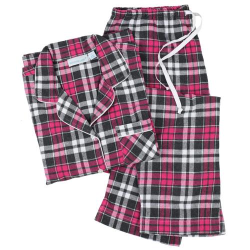 Women's 100% cotton flannel pajama set