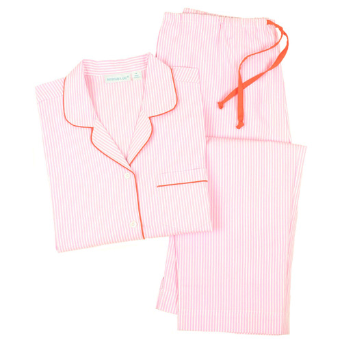 Women's crisp 100% cotton pajamas