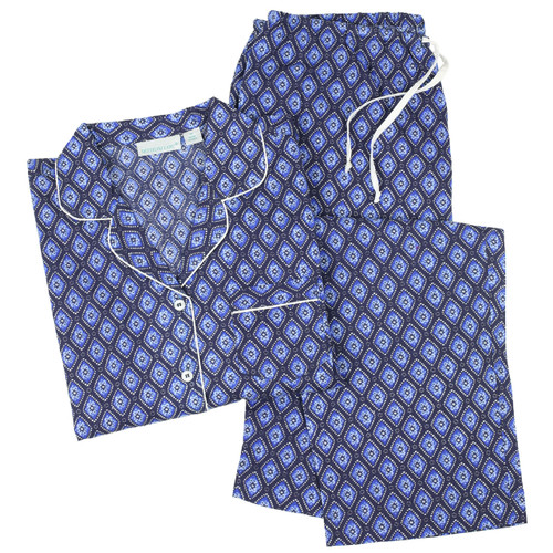 Long sleeve, lightweight, 100% cotton pajama set