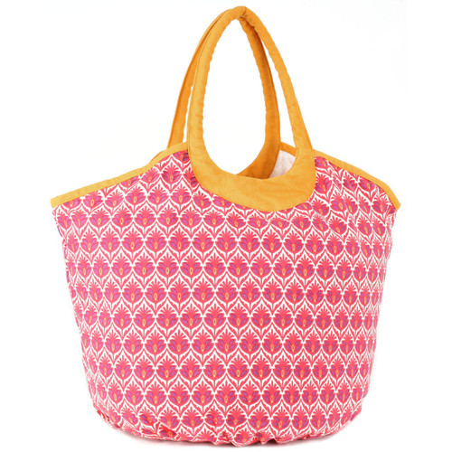 Dorset Red large beach tote