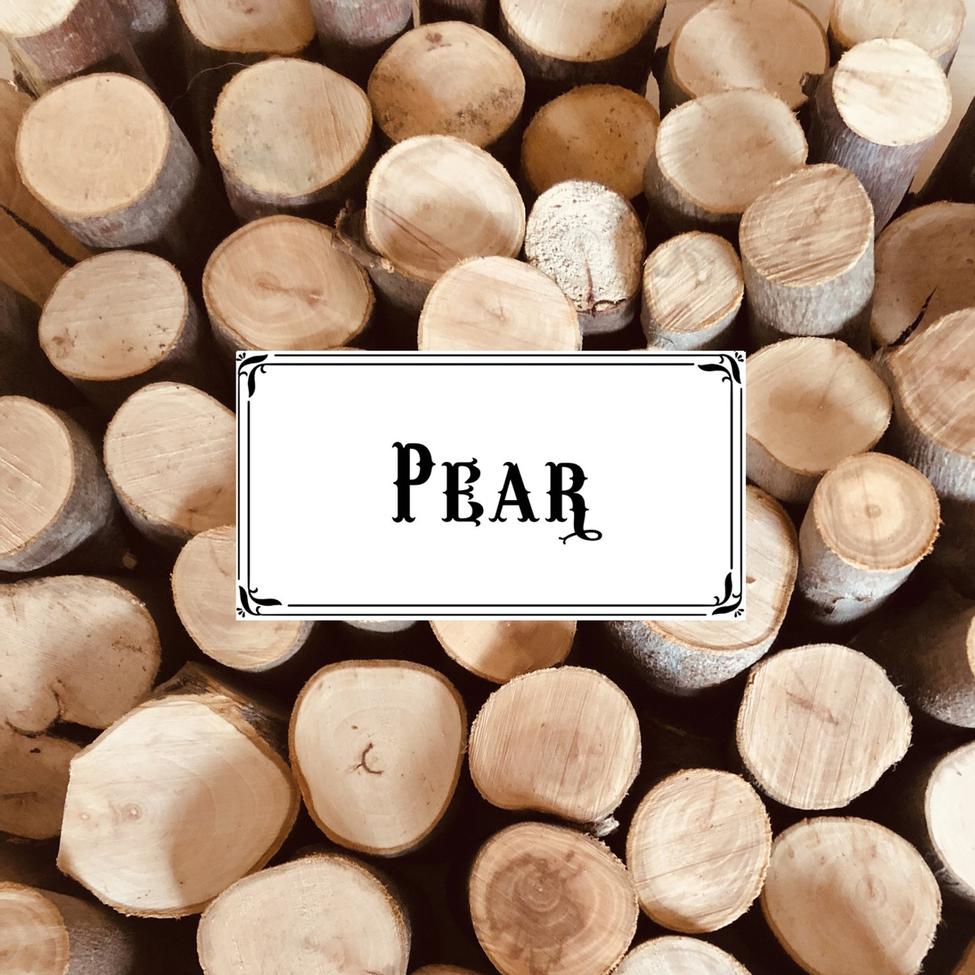 Australian Pear Wood Chunks