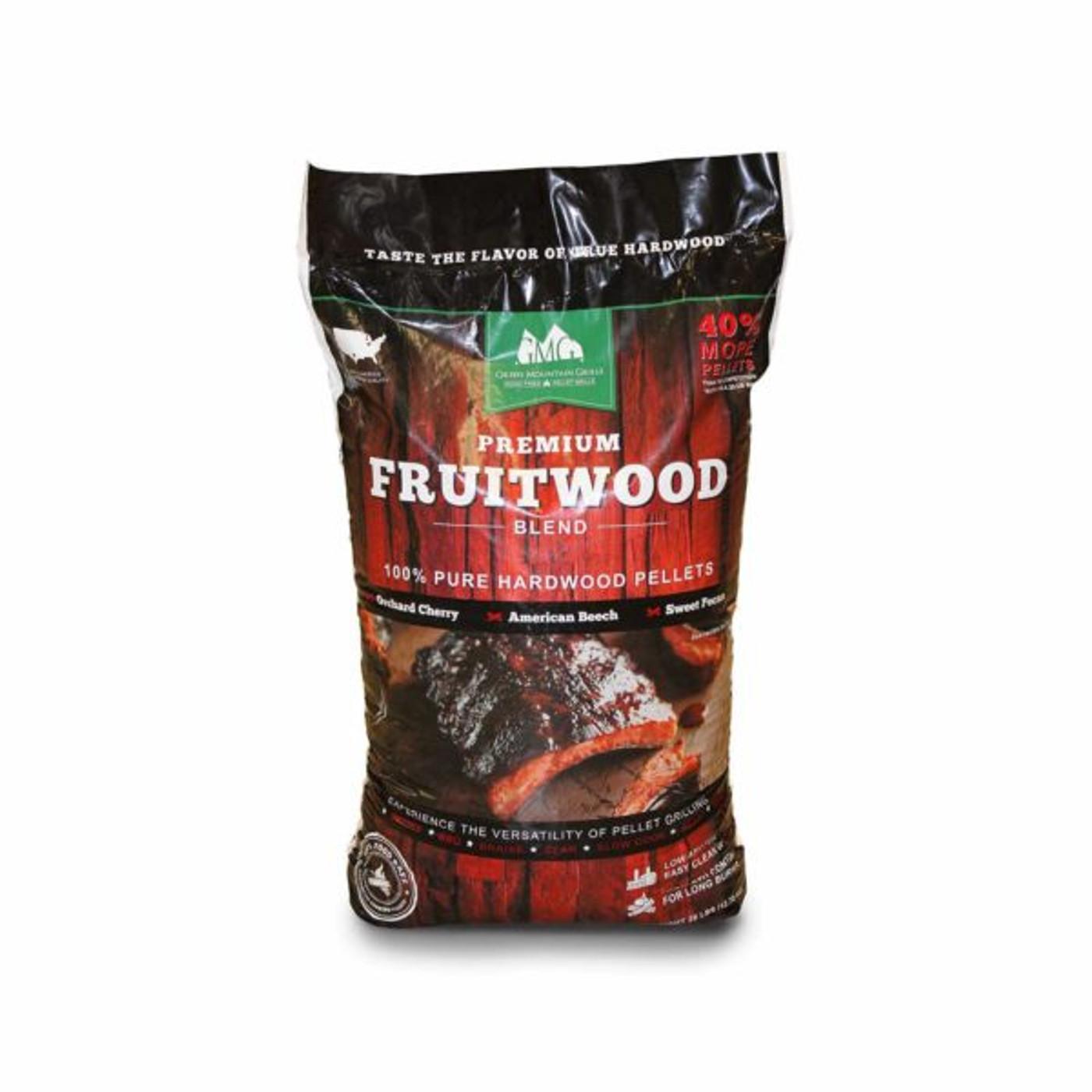 GMG - Premium Fruitwood Pellets