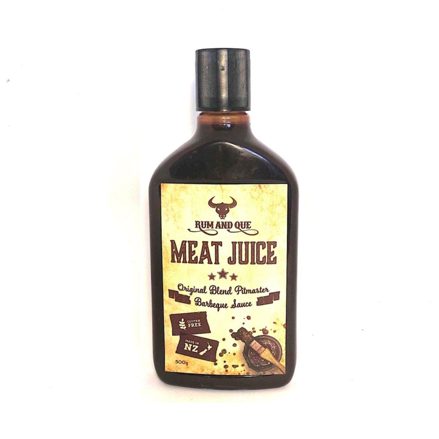 Rum and Que -  Meat Juice BBQ Sauce