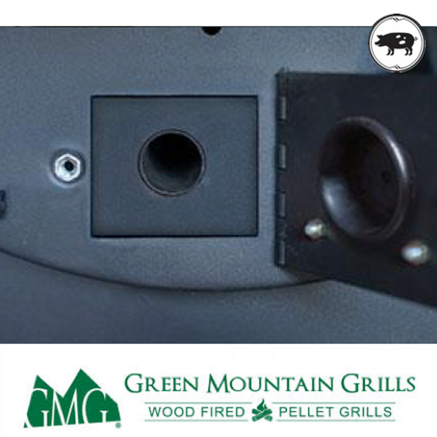 GMG - Jim Bowie Prime+ Pellet Grill with Stainless Steel Hood