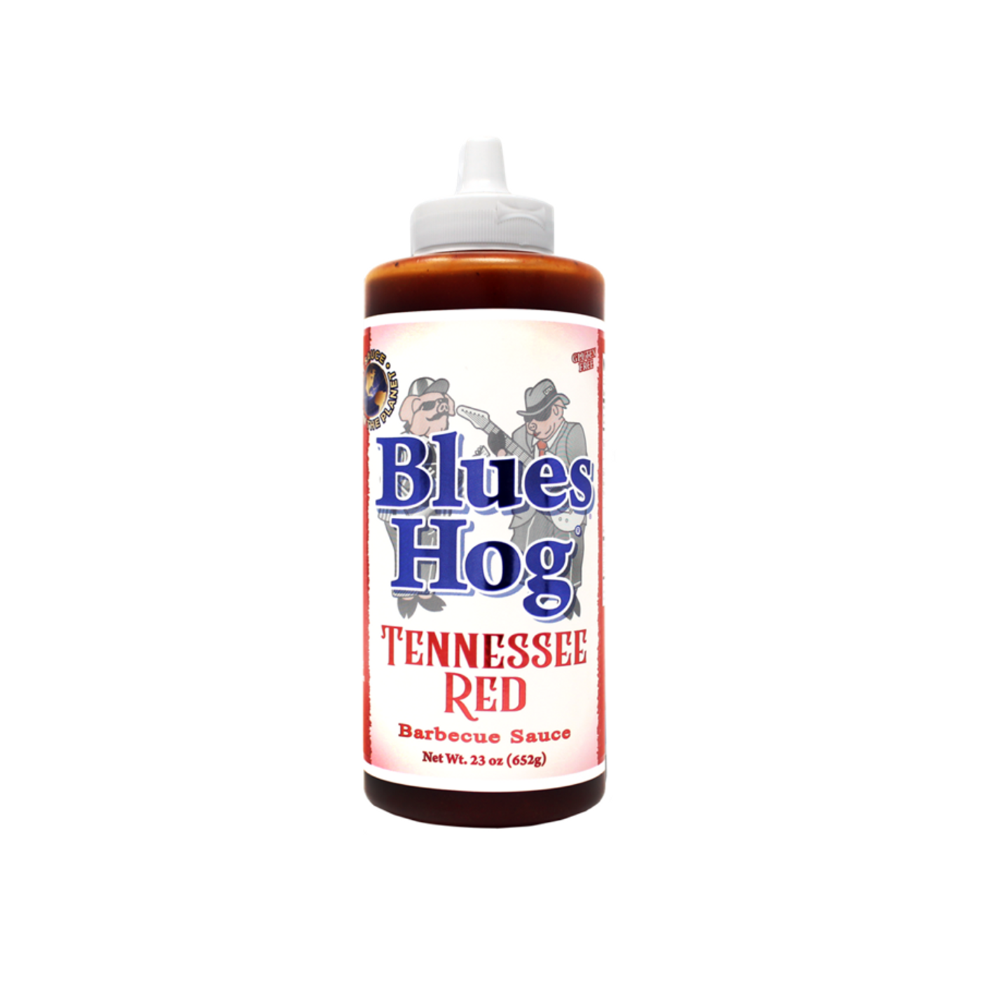 Blues Hog - Red Squeeze Bottle BBQ Sauce (680gm)