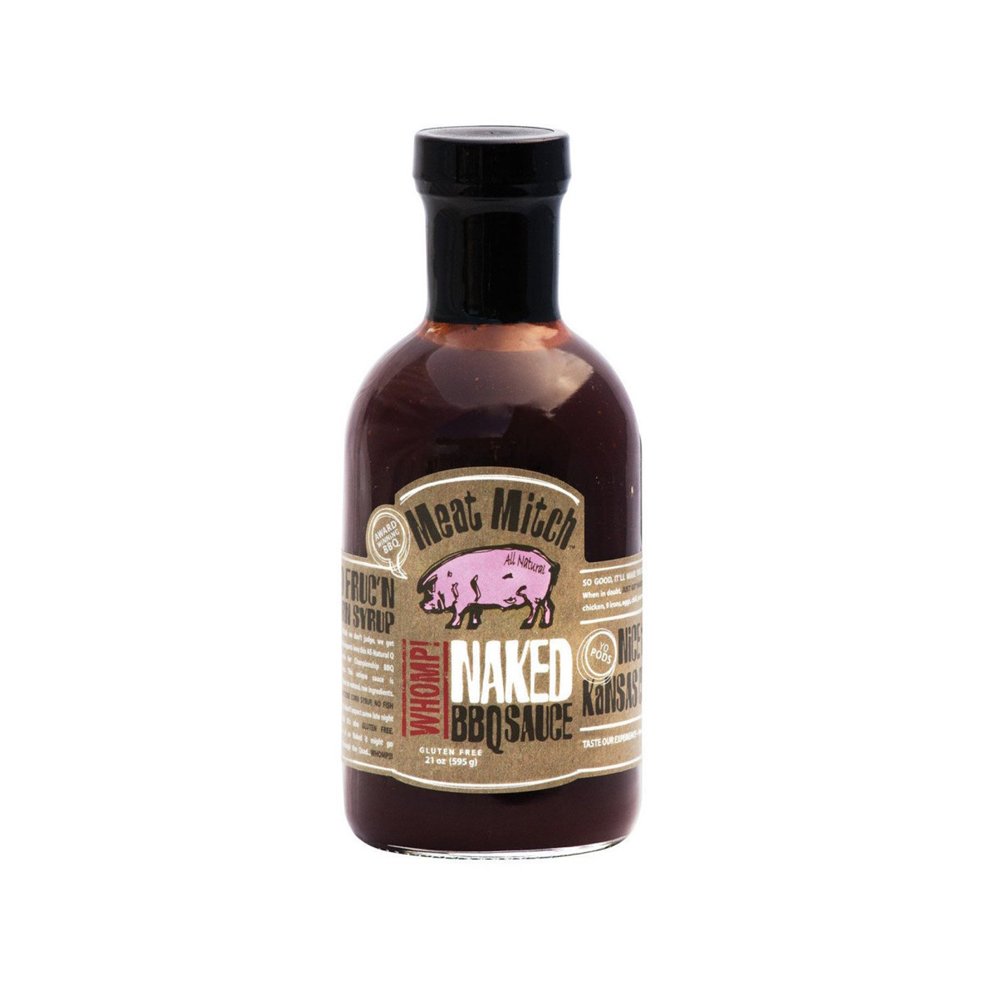 Meat Mitch - Whomp Naked BBQ Sauce