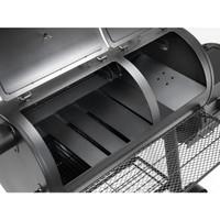 Adjustable baffles (tuning plates) for even heat distribution